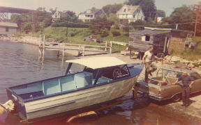 Gavin started in the boatbuilding business in 1947